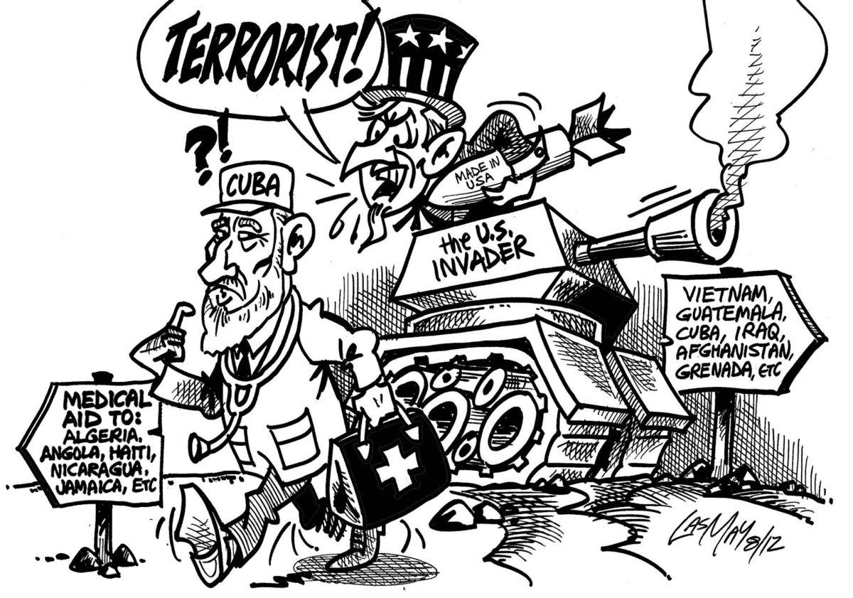 Terrorist clipart injustice Punishment Realcuba's Cuba Blog The