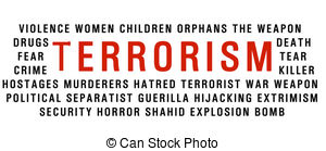 Terrorist clipart the word A of clip word Terrorism