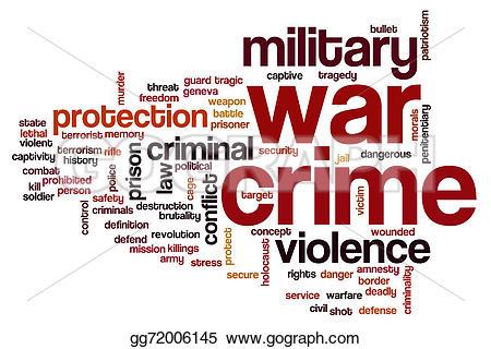 Terrorist clipart warfare Stock Illustration Art crime