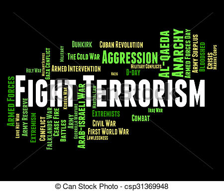 Terrorist clipart warfare Drawing Means Terrorists Fight Object