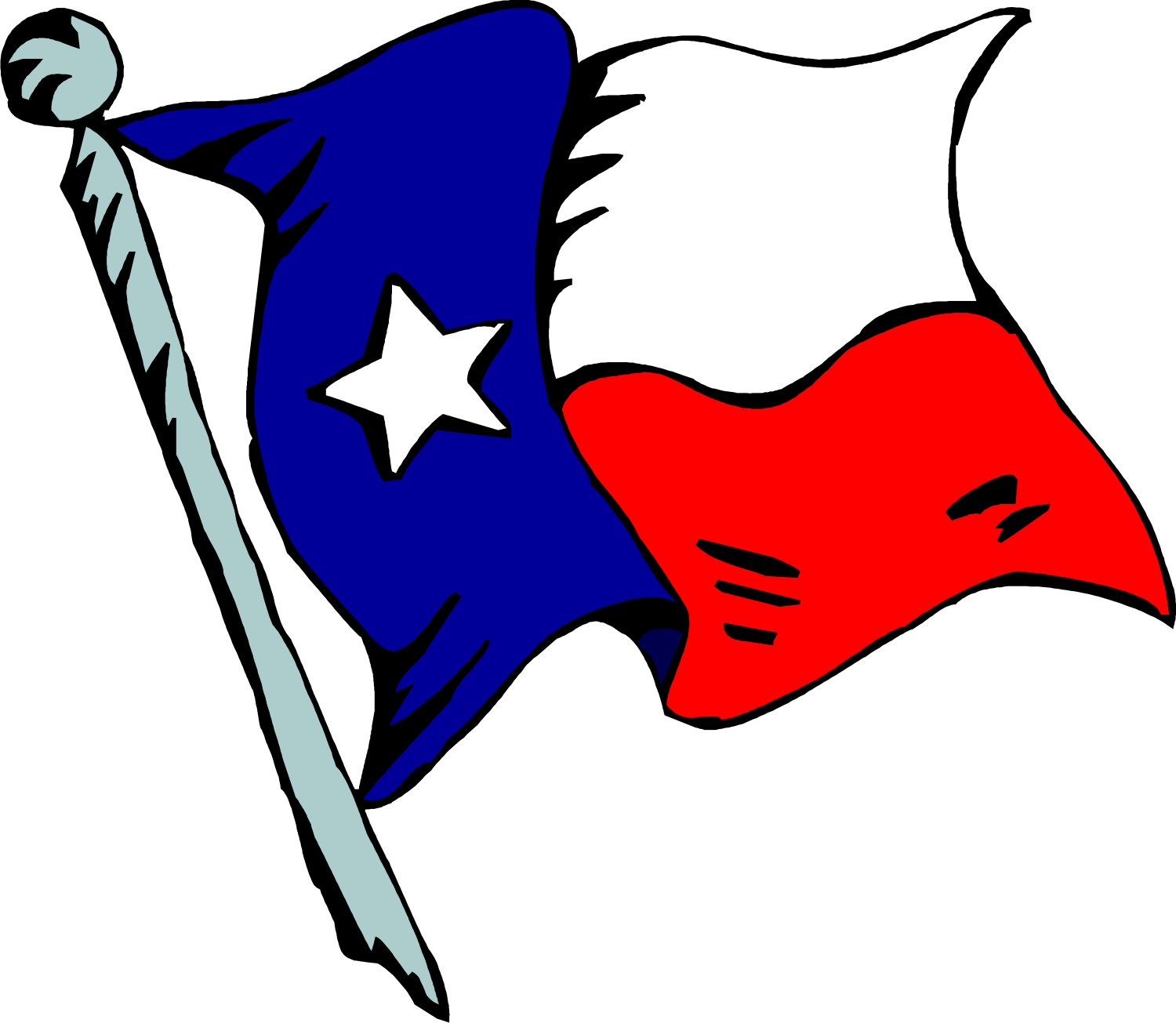 American Flag clipart texas Texas outline Texas free outline