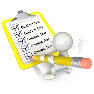 Text clipart List at Custom ID# Text
