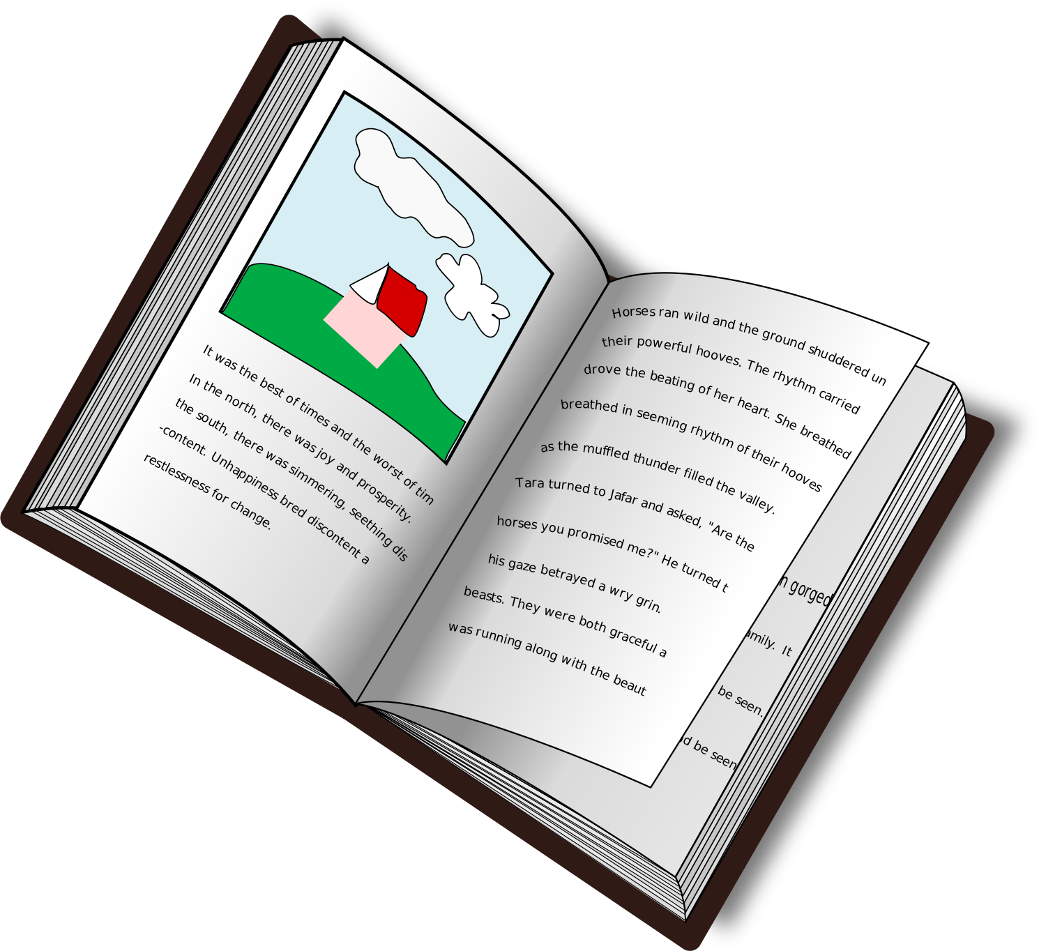 Text clipart Book text book Clipart and