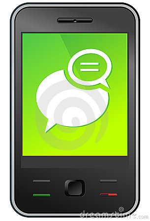 Phone clipart text message Art Message Text A To
