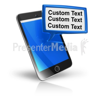 Telephone clipart sms Text Custom Phone Texting Block