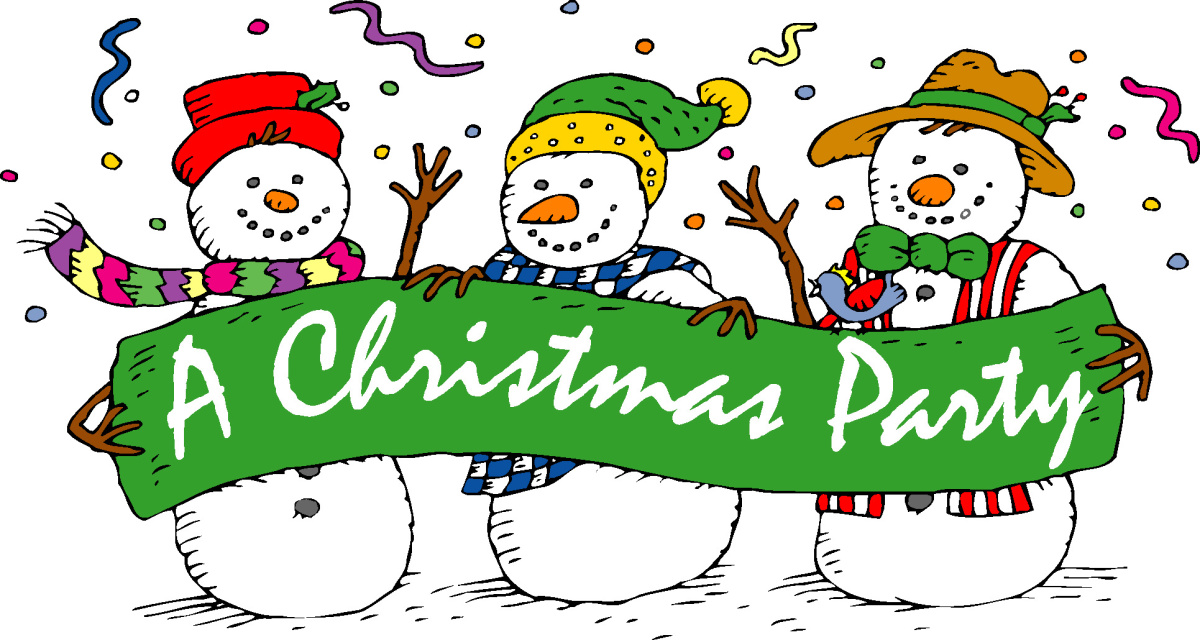 Text clipart christmas party Flo's Party Christmas Angels K106
