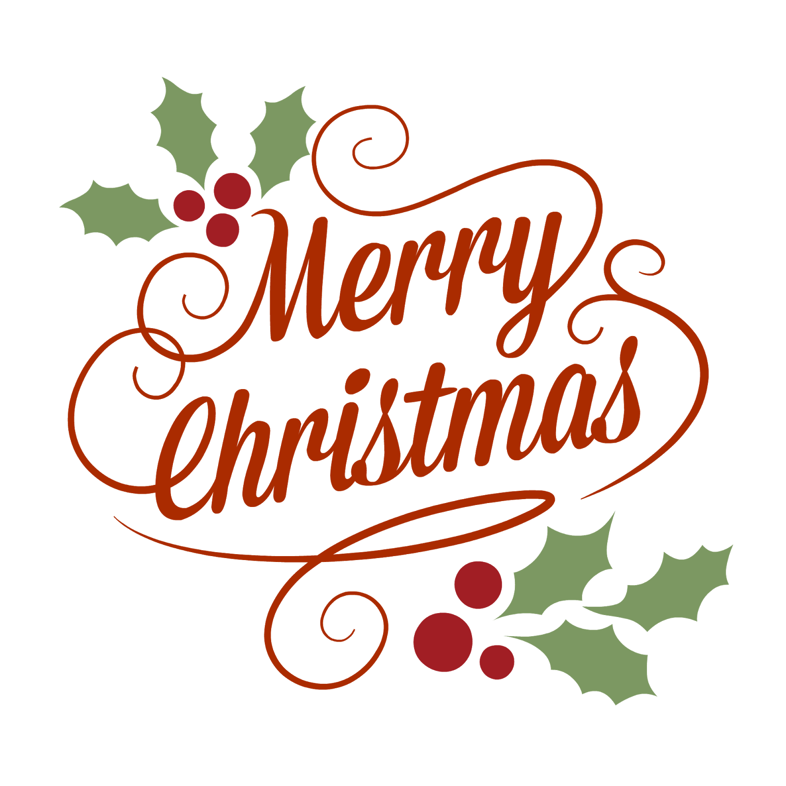 Merry Christmas clipart train Merry Vintage Christmas Classical Christmas