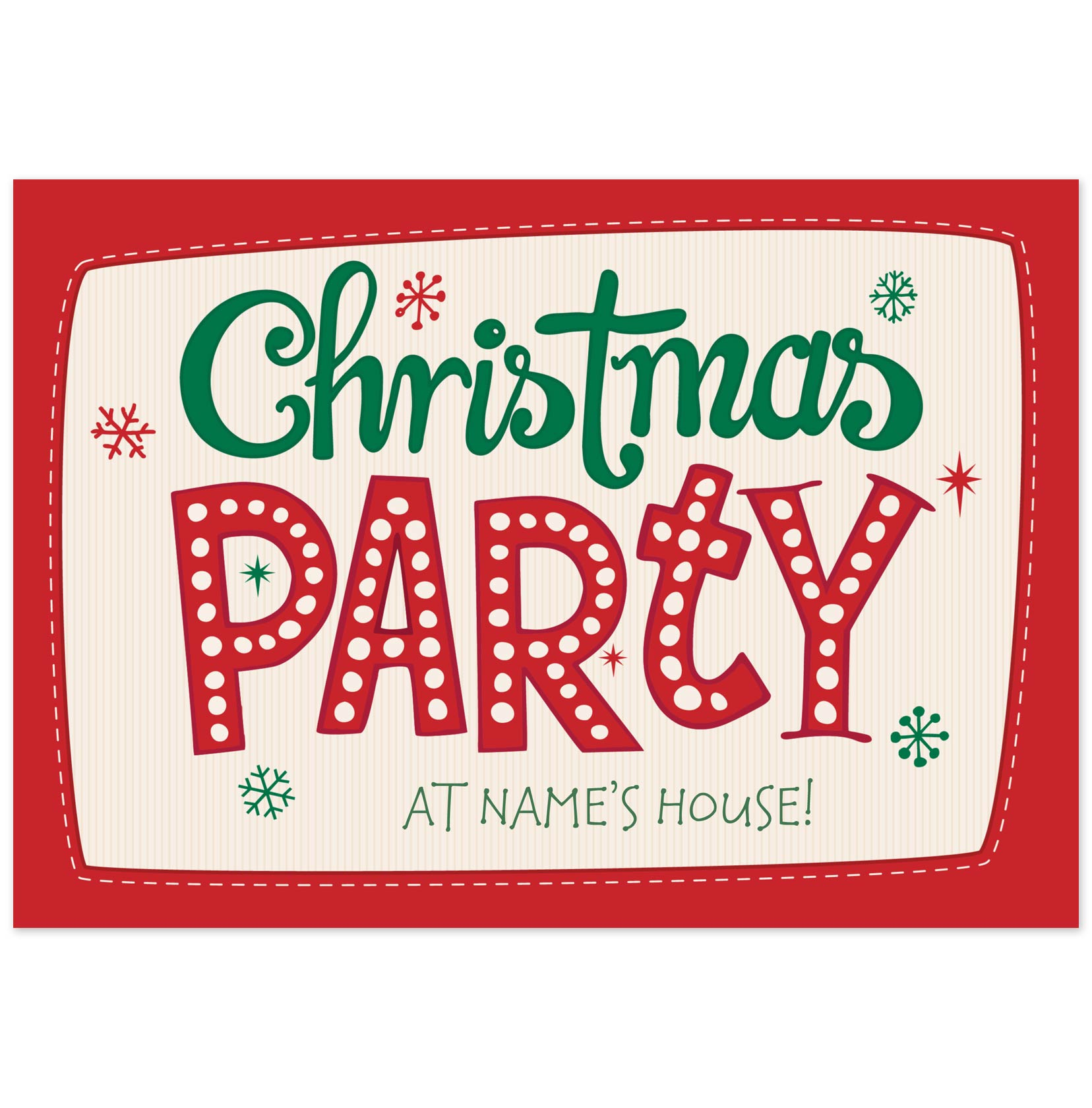 Text clipart christmas party Christmas invitations inspiration invitation free