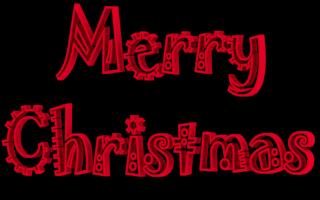 Text clipart merry christmas Clip 3D arts Clip Font