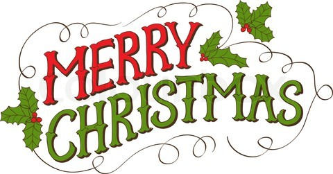 Text clipart merry christmas – Transparent (01) Merry –