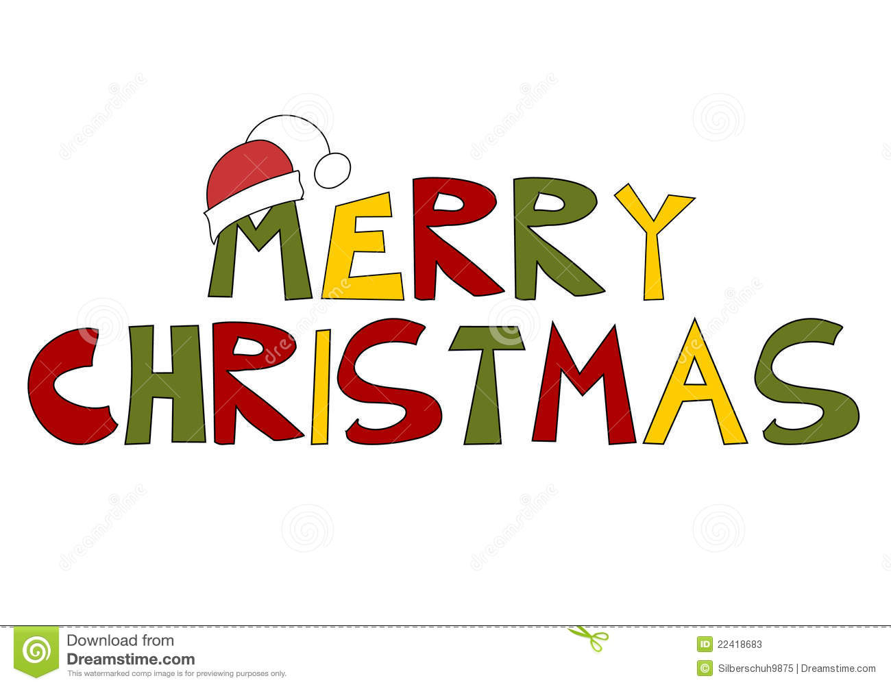 Text clipart merry christmas Text Designs (15) Merry Happy