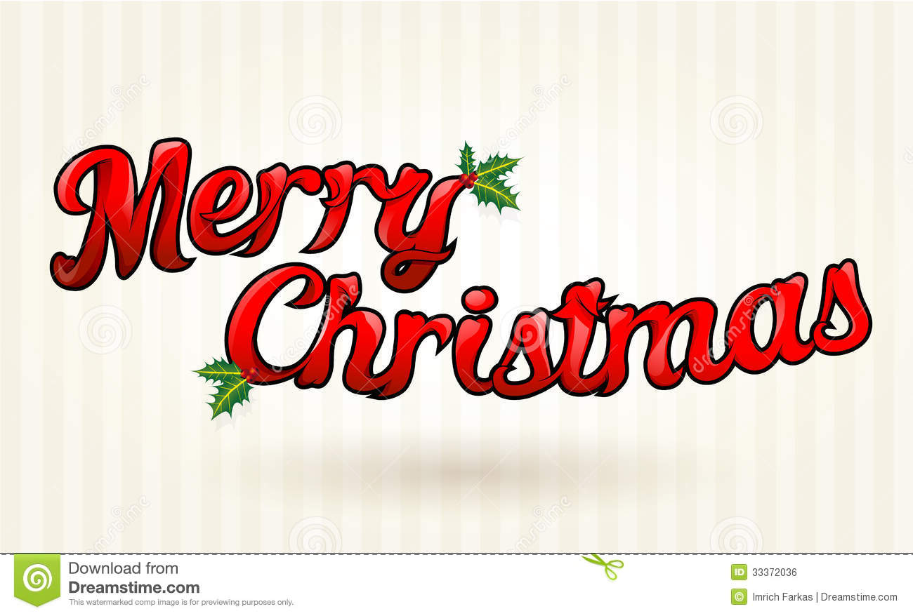 Text clipart merry christmas Text Designs (04) Merry Happy