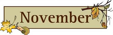 Text clipart november #10 clipart clipart November November
