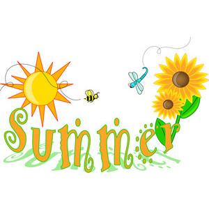 Text clipart summer Summer Clipart Summer Art Polyvore
