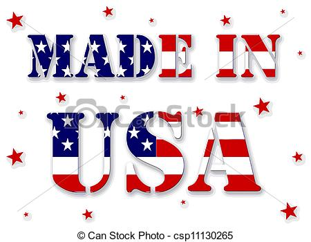 Text clipart usa With in text red USA