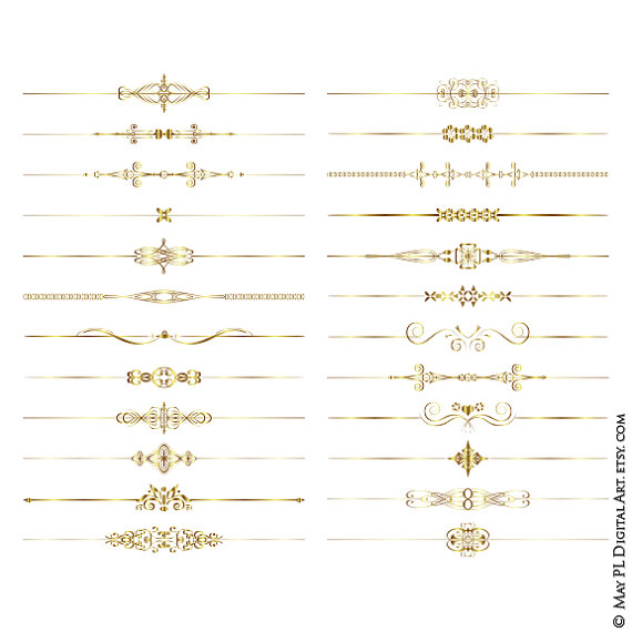 Harvest clipart divider Gold from Clip Png Graphics
