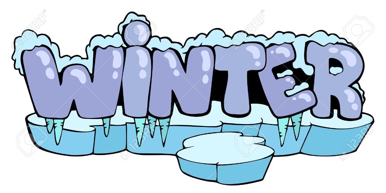 Text clipart winter Clip 07 Clip Art Cartoon
