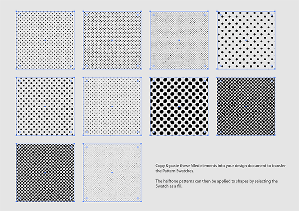 Texture clipart halftone pattern #4