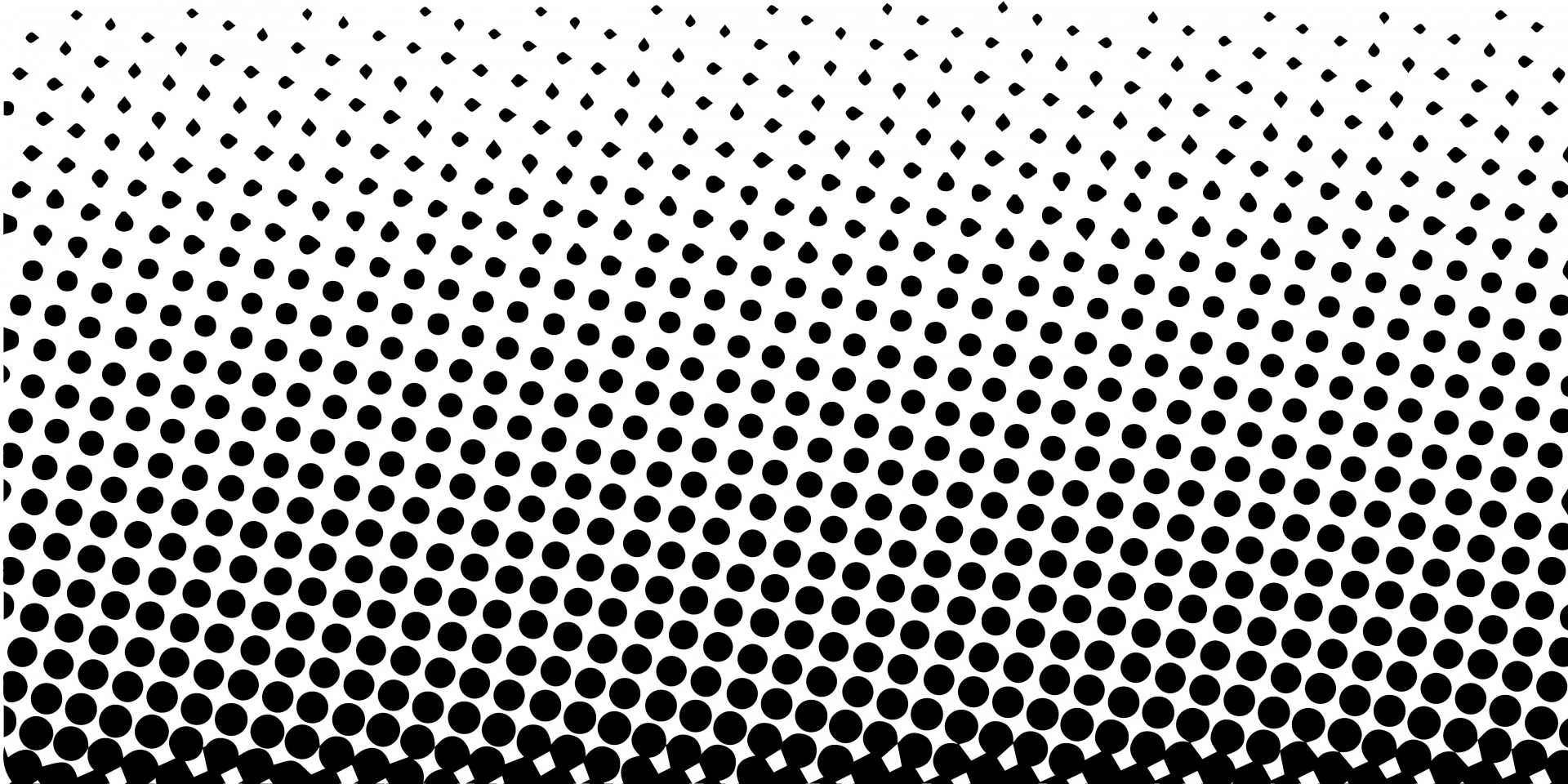 Texture clipart halftone pattern #3