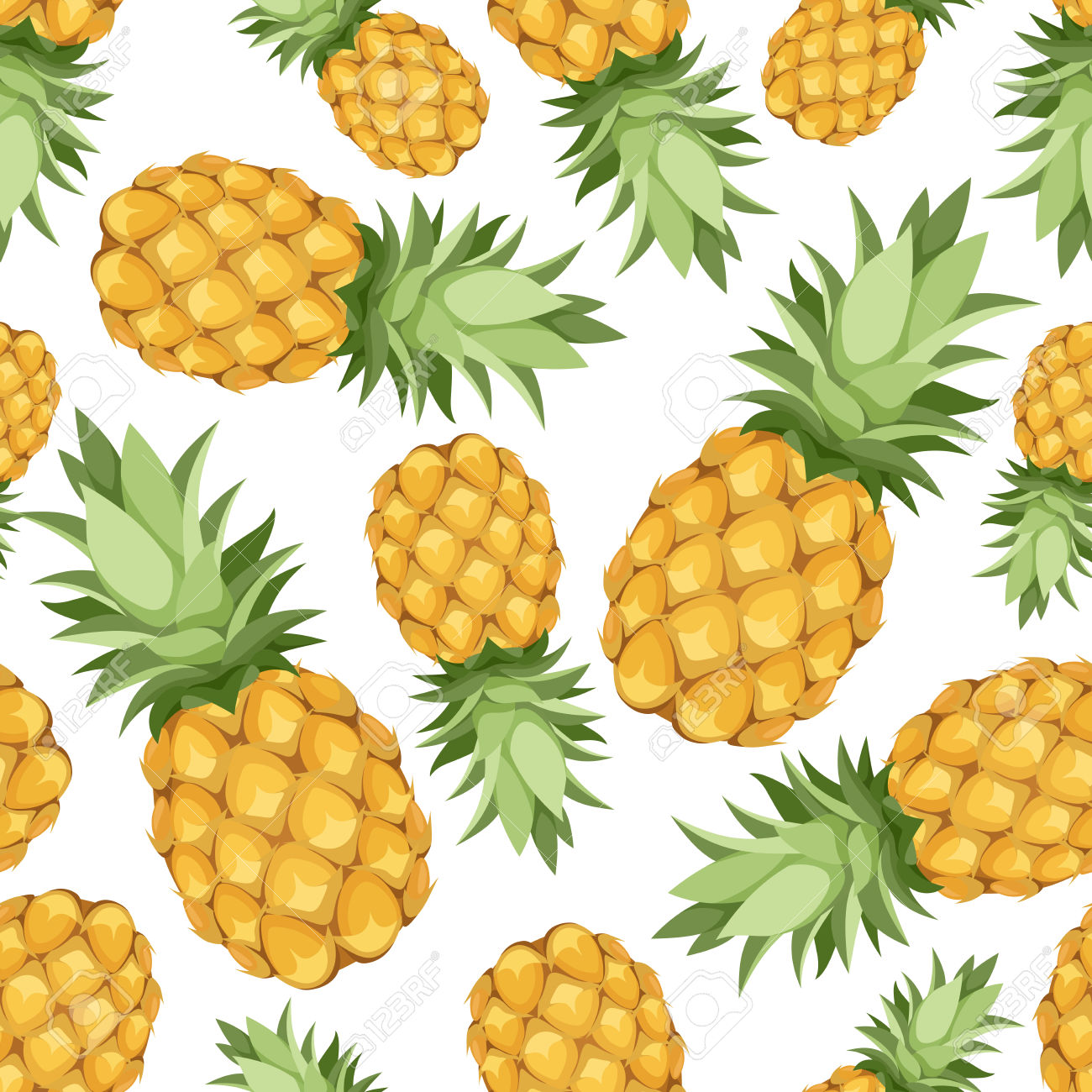 Texture clipart pineapple #2