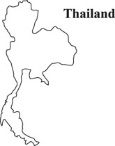 Thai clipart black and white 165x210 Size: Tradition outline collection