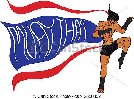 Thai clipart thailand : : Thai Muay Muay
