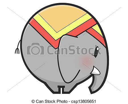 Thai clipart thailand elephant Elephant thai csp13805651 Illustrations of