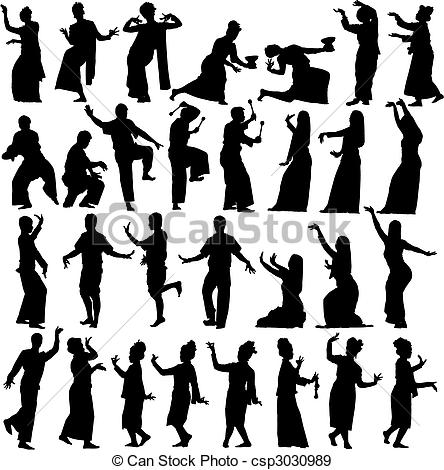 Thailand clipart traditional dance #6