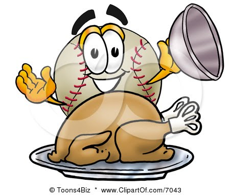Baseball clipart thanksgiving At and From Hardball: yours