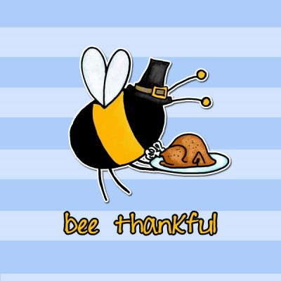 Bees clipart thanksgiving The thanksgiving Hob I bee
