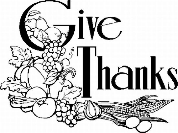 Cornucopia clipart give thanks Clipart Art Thanksgiving schliferaward and