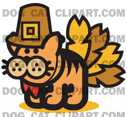 Thanksgiving clipart cat Turkey Disguised a as Disguised