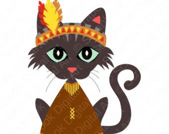 Thanksgiving clipart cat Art Cat Cat  Cat