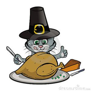 Thanksgiving clipart cat THANKSGIVING from CATS! CATS! THANKSGIVING