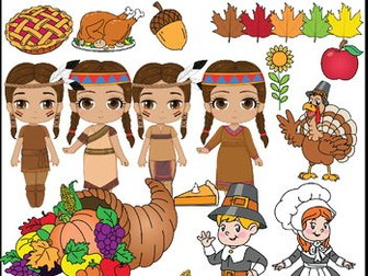 Thanksgiving clipart crops Teaching Clipart Resources  TES