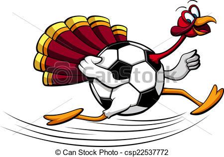 Turkey clipart football #7