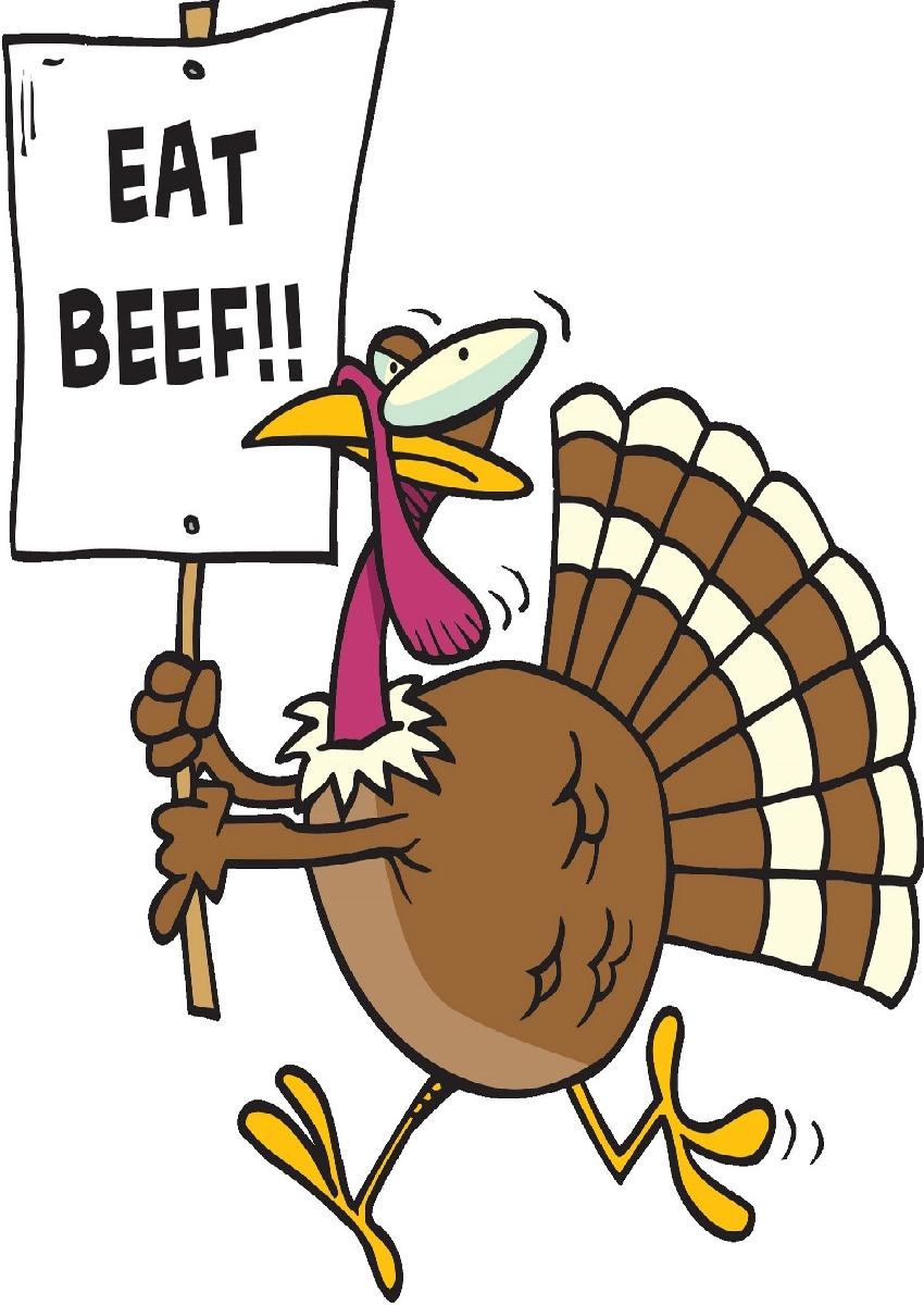 Turkey clipart funny #2