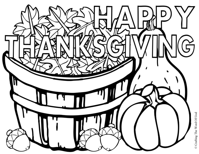 Thanksgiving clipart god Thanksgiving The coloring happy Happy
