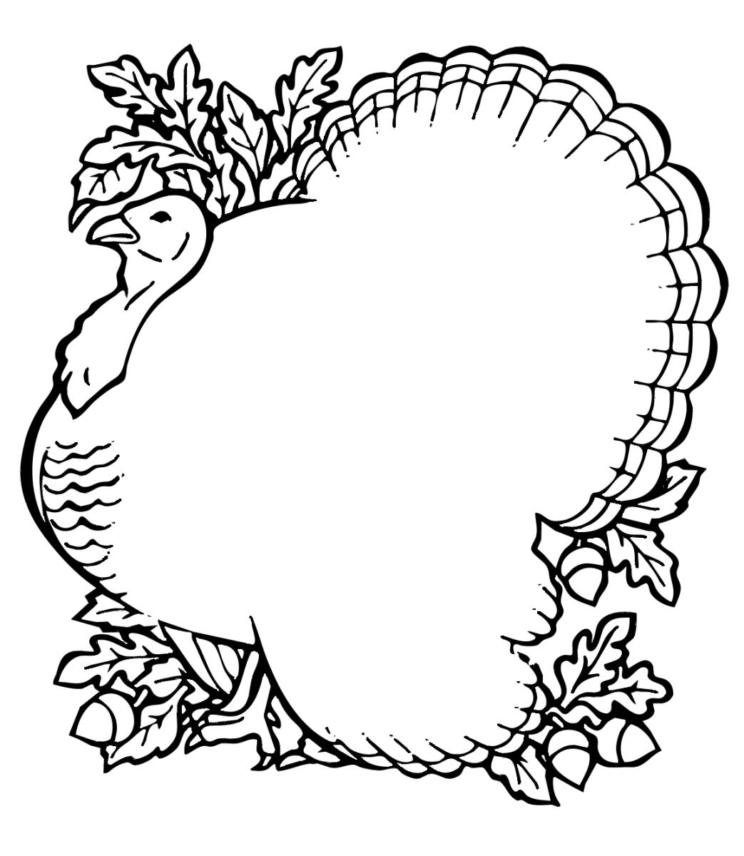 Turkey clipart shape #8