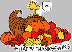 Thanksgiving clipart peanuts Thanksgiving more celebrates Woodstock on