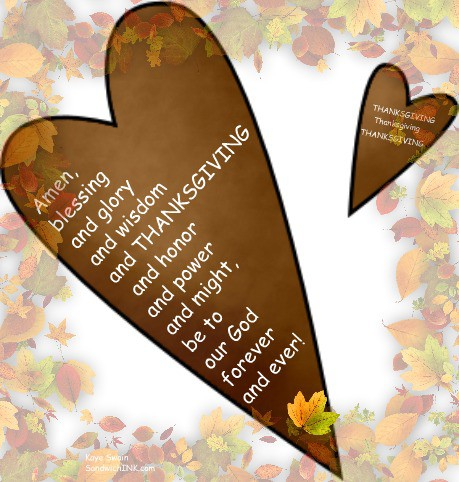 Thanksgiving clipart scripture Family Generation This time Autumn