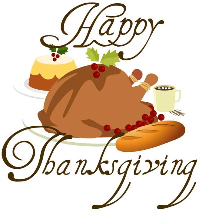Thanksgiving clipart supper Of Thanksgiving dinner day Thanksgiving