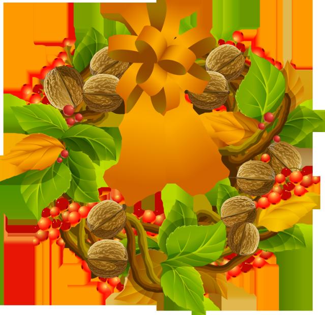 Thanksgiving clipart wreath Wreath Evergreen png pine clipart