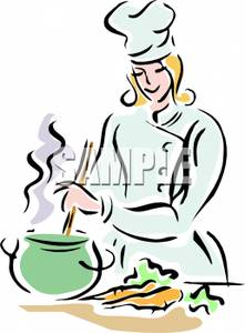 The Kitchen clipart chef kitchen The Lady Carrots Cooking the