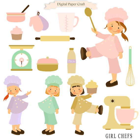The Kitchen clipart chef kitchen Clipart from Kitchen Clipart Cooking