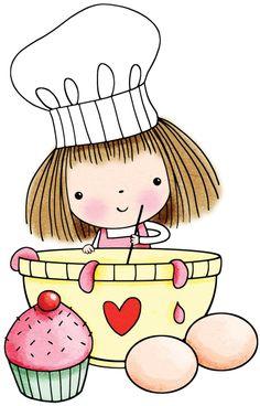 Baking clipart cute Cartoon Free vector Find diversos