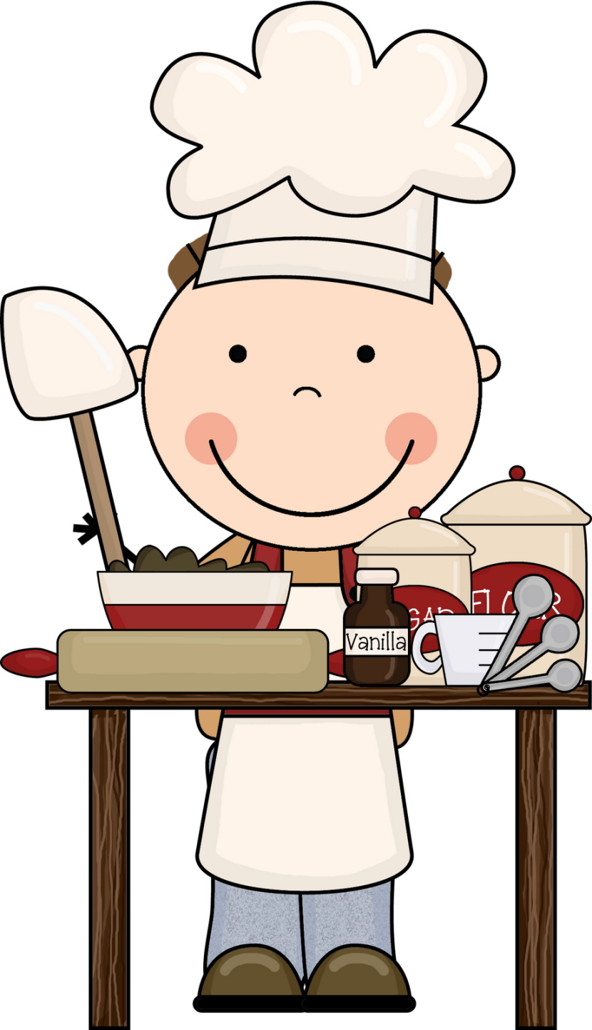 Baking clipart child baking Free clipart Cooking Classroom Download