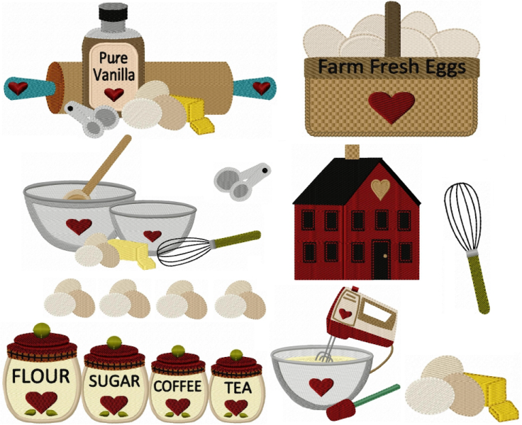 The Kitchen clipart country kitchen Kitchen Country  shelf Country