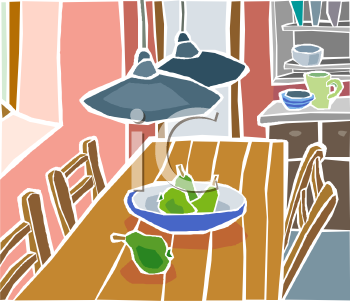 The Kitchen clipart dining room Art Chairs Dining Chairs –