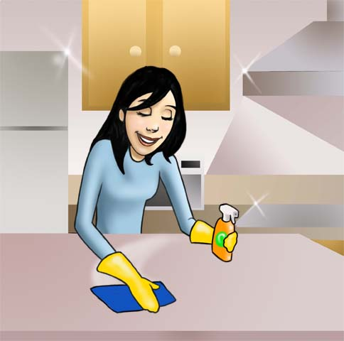 The Kitchen clipart kitchen cleaning Going I'm My a